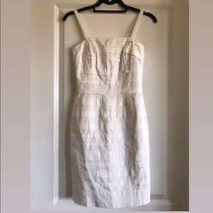 White Fitted Dress - LIKE NEW